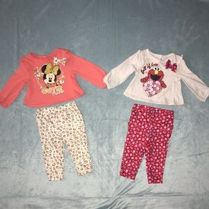 Other - 💕4 for $21💕 2 Babygirl Outfits